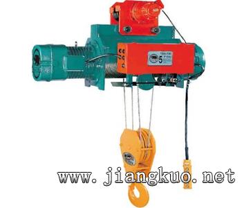 台湾黑熊钢丝绳电动葫芦(小车式TKL-300)